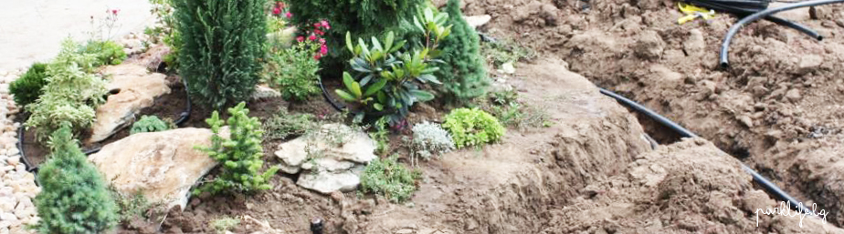 Изграждане на зелени площи